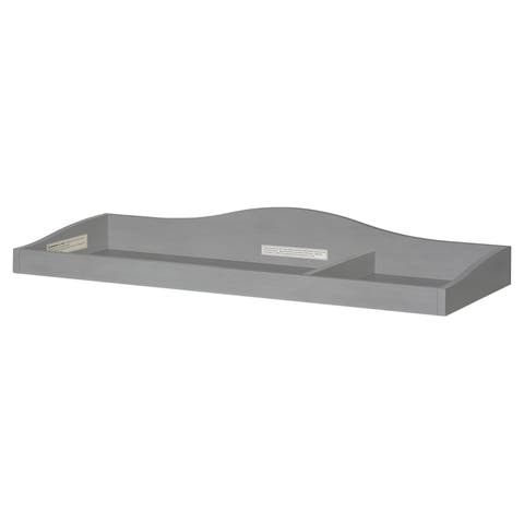 Evolur Fully Assembled Changing Tray, Strom Grey