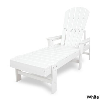 Polywood South Beach High-density Polyethylene Chaise