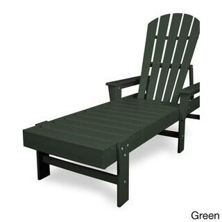Polywood South Beach High-density Polyethylene Chaise