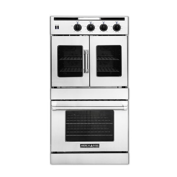 American Range Legacy 30 inch Double Combination Door Gas Wall Oven