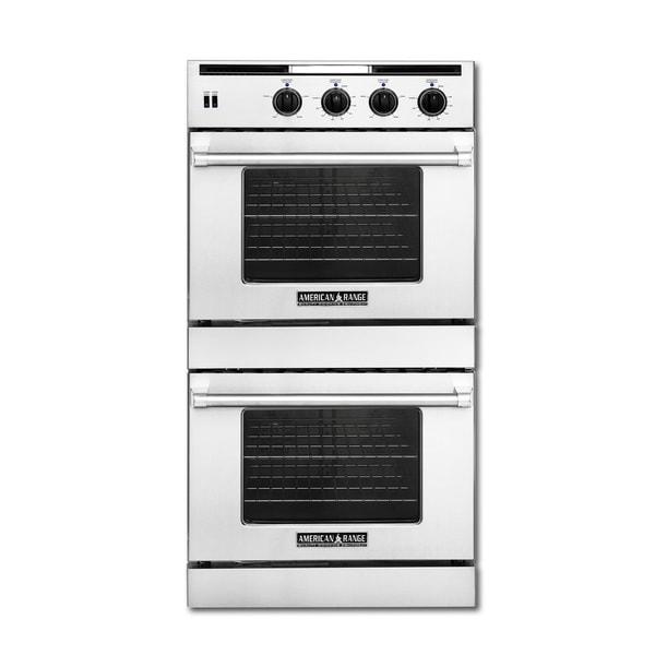 American Range Legacy 30 Inch Double Chef Door Gas Wall Oven