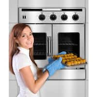 American Range Legacy 30 inch Double French Door Gas Wall Oven