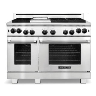 American Range 48 inch Performer 6 Open Burners and a Griddle Gas Range