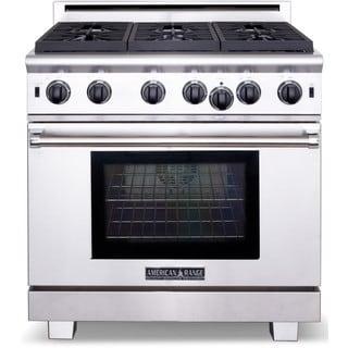 American Range 36 inch Cuisine 6 burner Gas Range