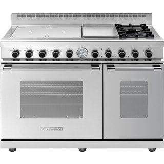 "Tecnogas Superiore 48"" Next Classic Range with Stainless Steel Natural Gas and Electric"