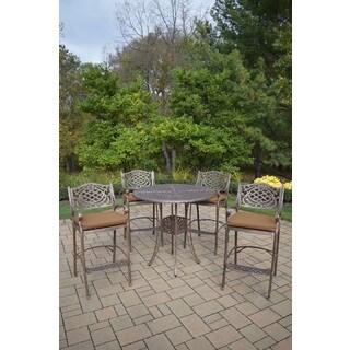 Merit 5-Piece Outdoor Bar Dining Set