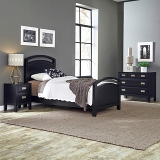 Home Styles Prescott Twin Bed; Night Stand; & Chest