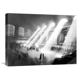 Global Gallery Anonymous 'Grand Central Station, New York' Giclee Canvas Wall Art