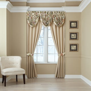 Daphne Pole Top Window Curtain Panel Pair