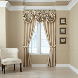 Daphne Pole Top Window Curtain Panel Pair https://ak1.ostkcdn.com/images/products/13913670/P20548188.jpg?impolicy=medium