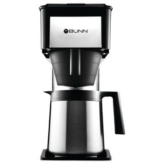 BUNN 10-Cup Velocity Brew BT Thermal Coffee Brewer Black Stainless Steel