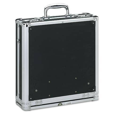 Vaultz Vaultz Locking Media Binder Holds 200 Disks Black