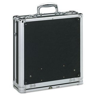 Vaultz Vaultz Locking Media Binder Holds 200 Disks Black