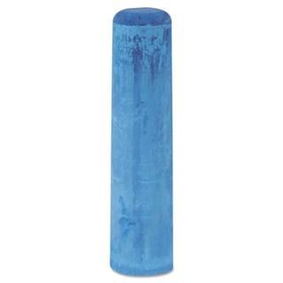 Dixon Railroad Crayon Chalk 4-inch x 1-inch Blue 72/Box