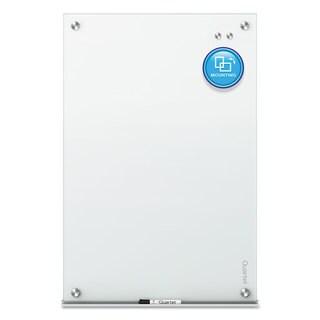 Quartet Infinity Magnetic Glass Marker Board 36 x 24 White