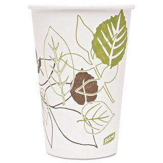 Dixie Pathways Paper Hot Cups 16oz 1000/Carton