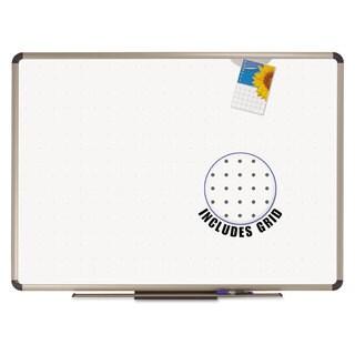 Quartet Prestige Total Erase Whiteboard 36 x 24 White Surface Euro Titanium Frame