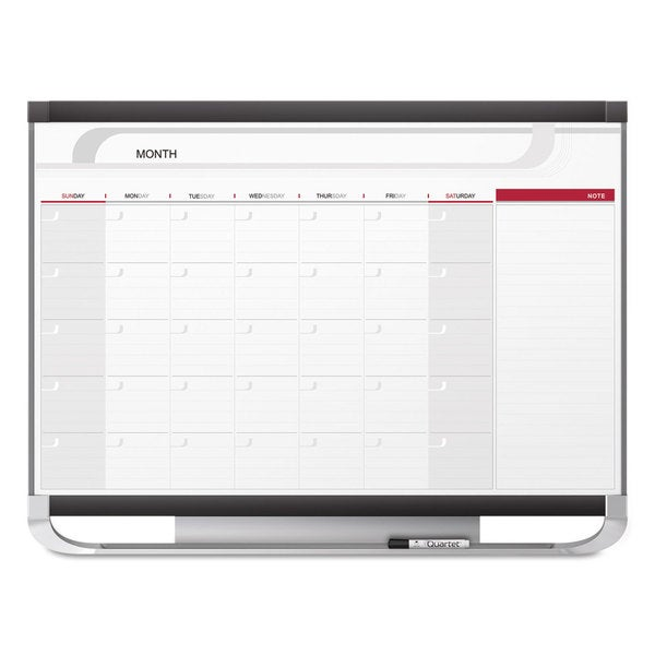 Shop Quartet Prestige 2 Connects Total Erase Monthly Calendar 48 x ...