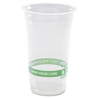 Eco-Products GreenStripe Cold Cups- 24oz. 50/Pack 20 Pack/Carton