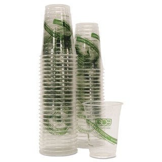 Eco-Products GreenStripe Cold Cups Conv Pack 16oz 50/Pack 10 Pack/Carton