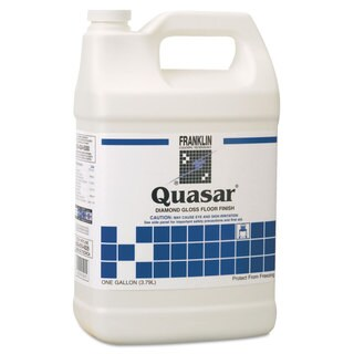 Franklin Cleaning Technology Quasar High Solids Floor Finish Liquid 1 gal. Bottle