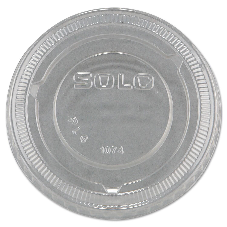 Solo Cup Company No-Slot Plastic Cup Lids 3.25-9-ounce Cu...