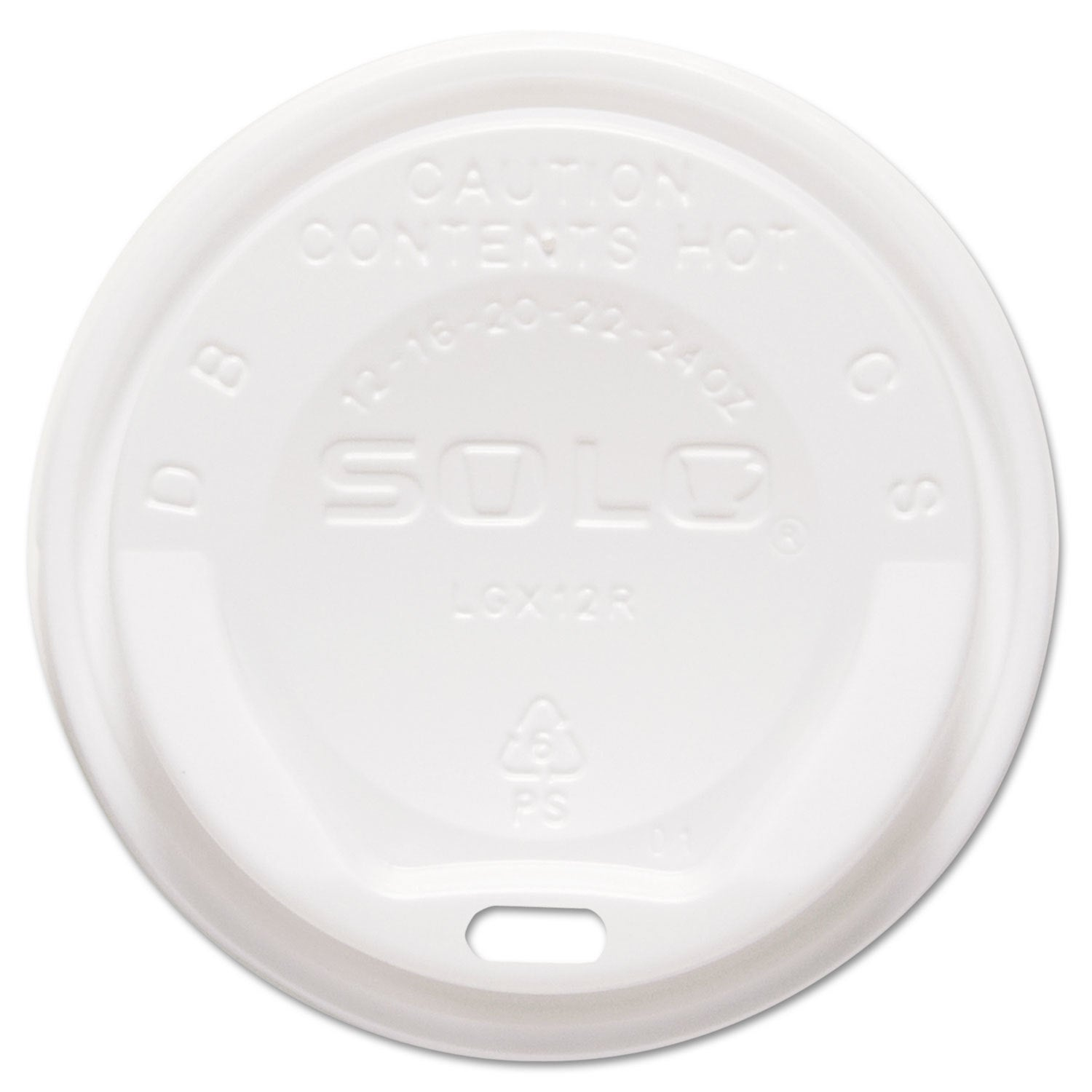 Solo Cup Company Gourmet Hot Cup Lids For Trophy Plus Cup...