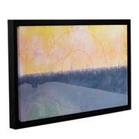 Charlie CMillar's ' Glyndebourne, 2000' Gallery Wrapped Floater-framed Canvas - Blue