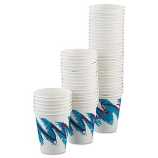 SOLO Cup Company Jazz Paper Hot Cups 6oz Polycoated 50/Bag 20 Bags/Carton