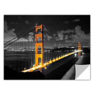 ArtAppealz Revolver Ocelot's 'San Fransisco Bridge I' Removable Wall Art Mural