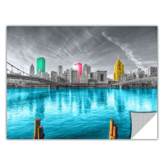 ArtAppealz Revolver Ocelot's 'Pittsburgh' Removable Wall Art Mural