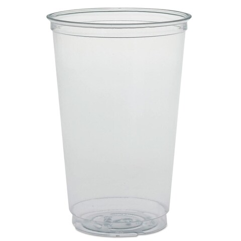 SOLO Cup Company Ultra Clear PETE Cold Cups 20-ounce Clear