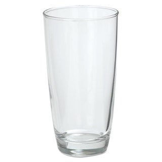 Office Settings Marbel Beverage Glasses 16-ounce Clear 6/Box