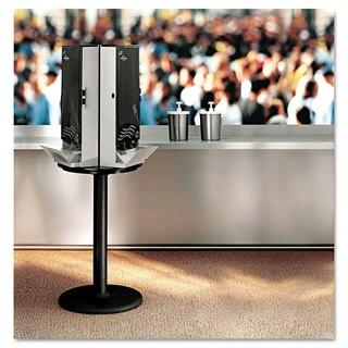 Dixie SmartStock Cutlery Dispenser Stand 18-1/4 dia x 42h Black