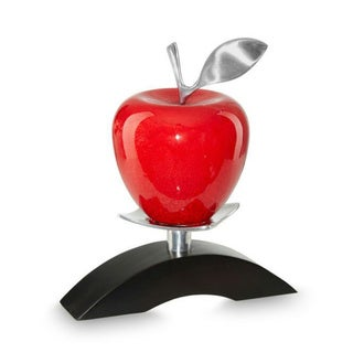 DW Apple Red on Solo Bridge Stand