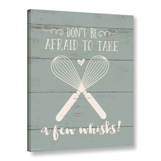 Jo Moulton's 'Whisks' Gallery Wrapped Canvas