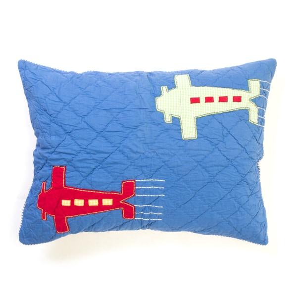 Airplane Pillow Sham