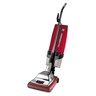 Sanitaire Commercial Upright with EZ Kleen Dirt Cup 7 Amp 12 inches Path Red/Steel