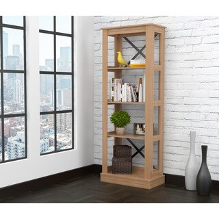 Inval Urban Open Back Transitional Bookcase