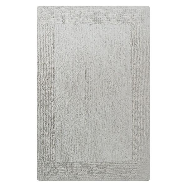 Splendor Reversible Bath Rug - White 21x34