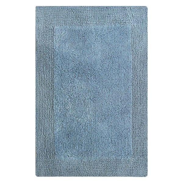 Splendor Reversible Bath Rug - Marine Blue 21-inch x 34-inch