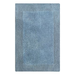 Splendor Reversible Bath Rug - Marine Blue 24x60