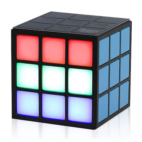 iBasics Cube-inspired Light-up Bluetooth Speaker