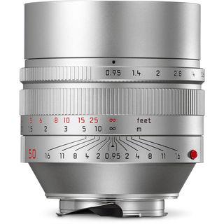 Leica Noctilux-M 50mm f/0.95 ASPH Lens (Silver)