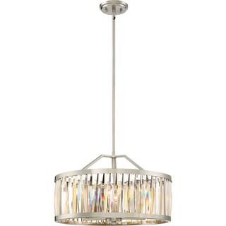 Quoizel Platinum Collection Ballet Brushed Nickel-finish 5-light Pendant