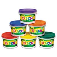 Crayola Modeling Dough Bucket 3-pound Assorted 6 Buckets/Set