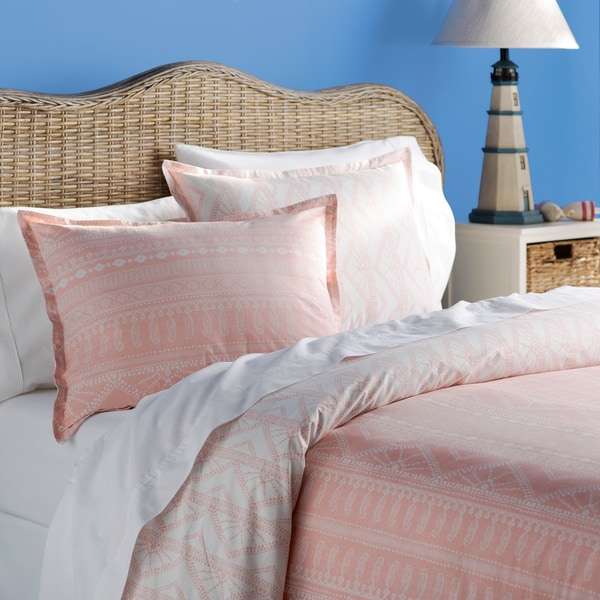 and sets brooklyn set cotton sand coral king washed comforter loom in quilts