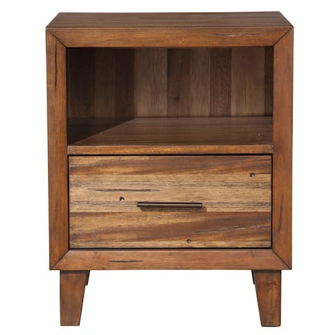 Origins Trinidad Brown Wood Nightstand