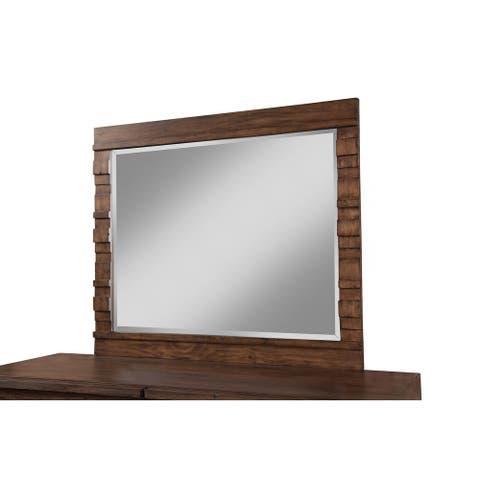 Origins Alamosa Wood Mirror - Brown - A/N