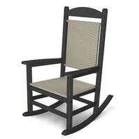 POLYWOOD Presidential Woven Rocking Chair